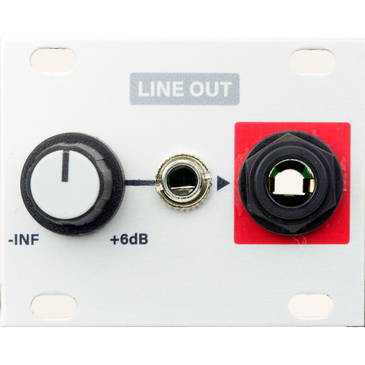 Intellijel Line Out 1U Module