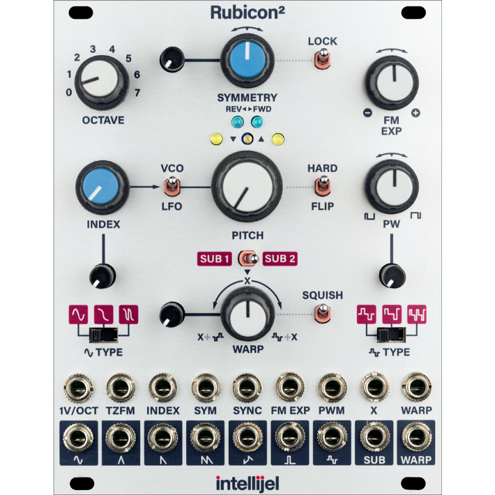 Intellijel Rubicon II Thru-Zero Discrete Triangle Core VCO