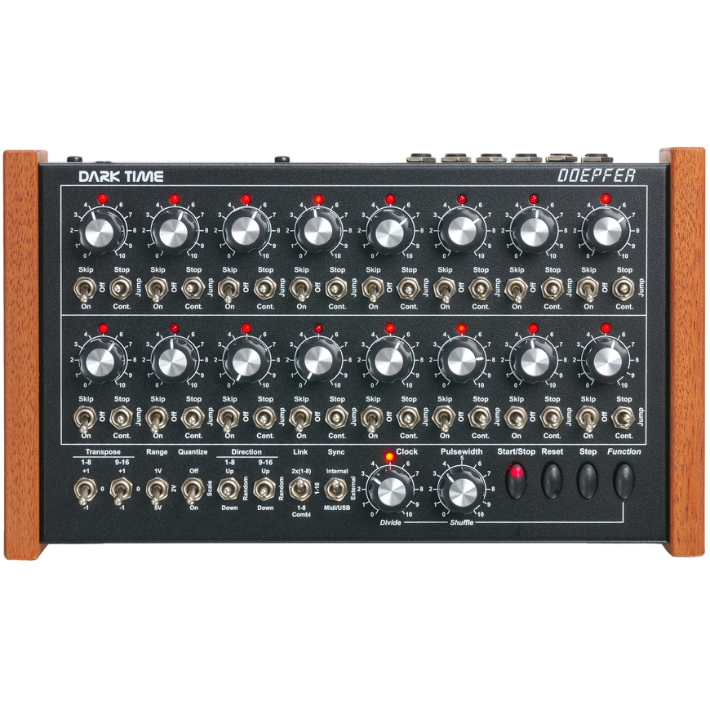 Doepfer Dark Time Red Sequencer