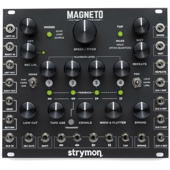 Strymon Magneto Digital Tape Echo & Looper