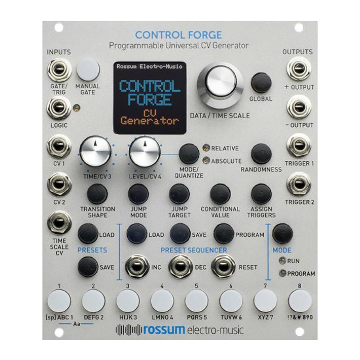 Open Box Rossum Electro-Music Control Forge
