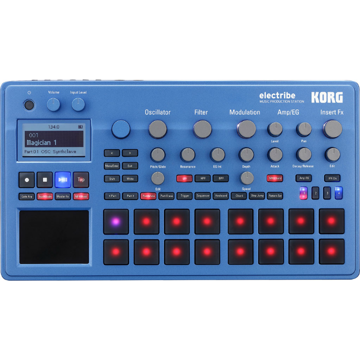 Korg Electribe Blue Drum Machine (Open Box)