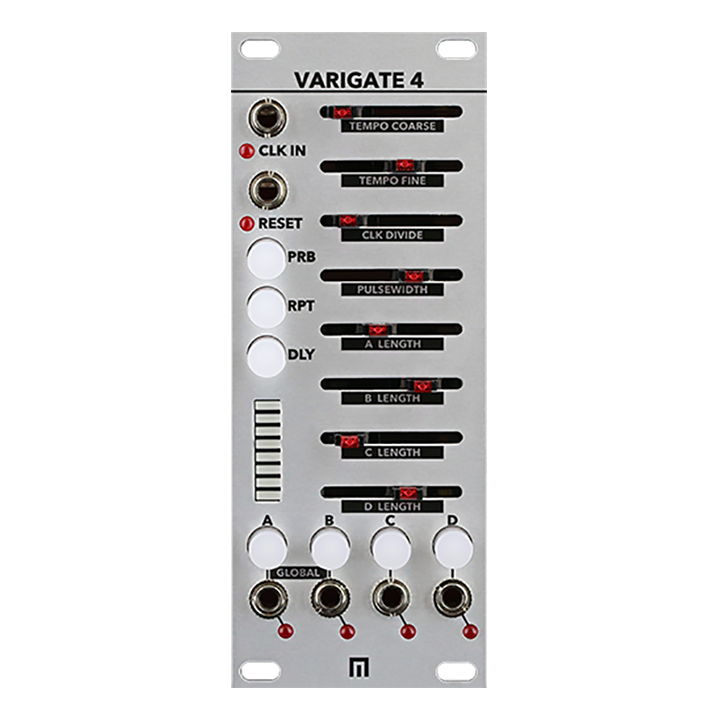 Malekko Varigate 4+ CV/Gate Sequencer (Silver)