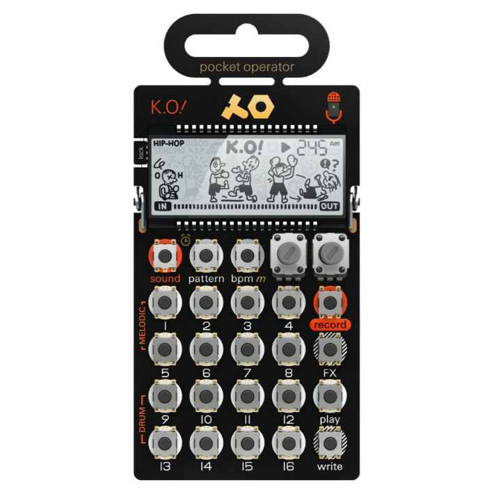 Teenage Engineering PO-33 KO Micro Sampler Pocket Operator