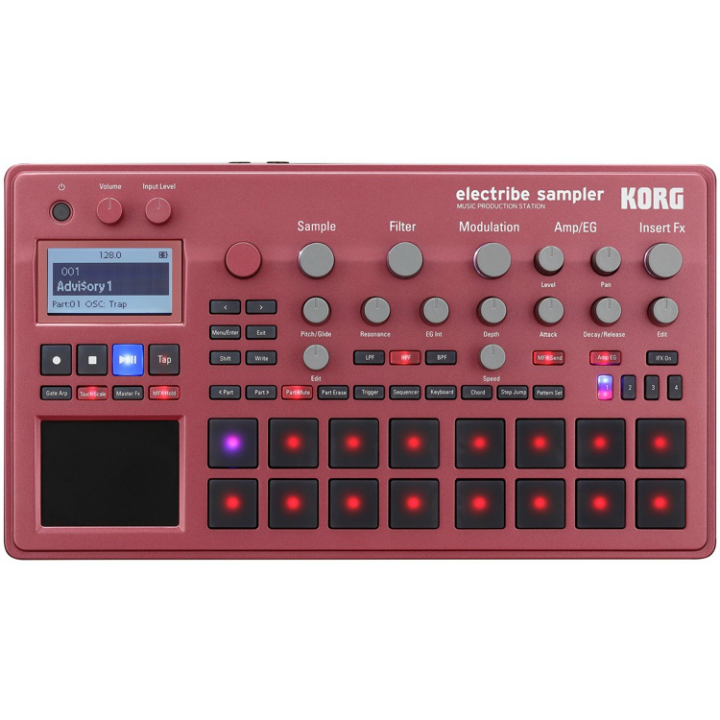 Korg Electribe Red Sampler (Open Box)