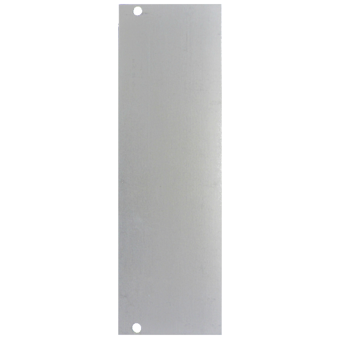 Doepfer A-100B8 8hp blank panel (silver or black)