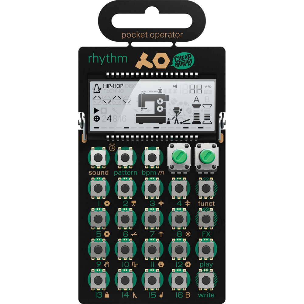 Teenage Engineering PO-12 Rhythm Pocket Operator
