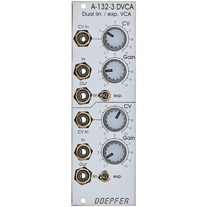 Doepfer A-132-3 Dual Linear / Exponential Vca