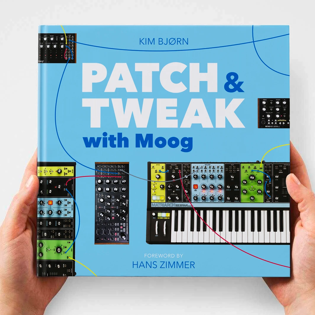 Patch & Tweak With Moog Book (preorder)