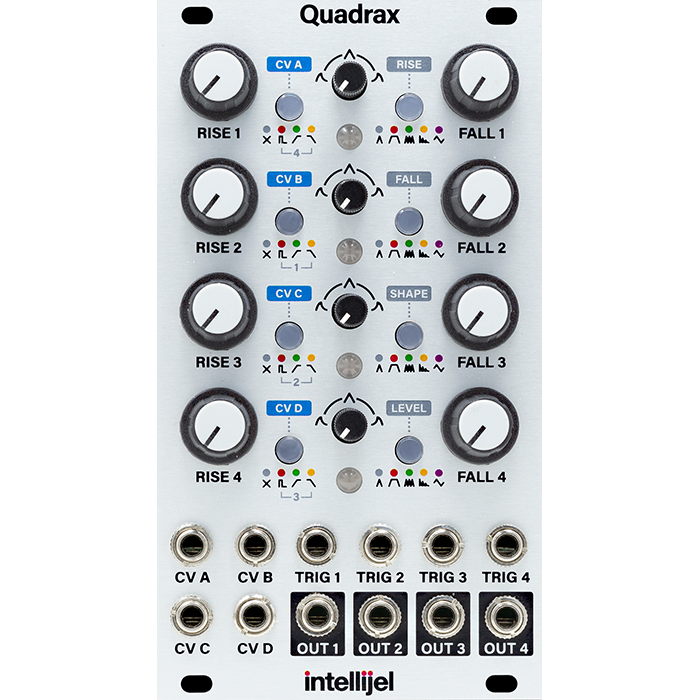 Intellijel Quadrax Function Generator