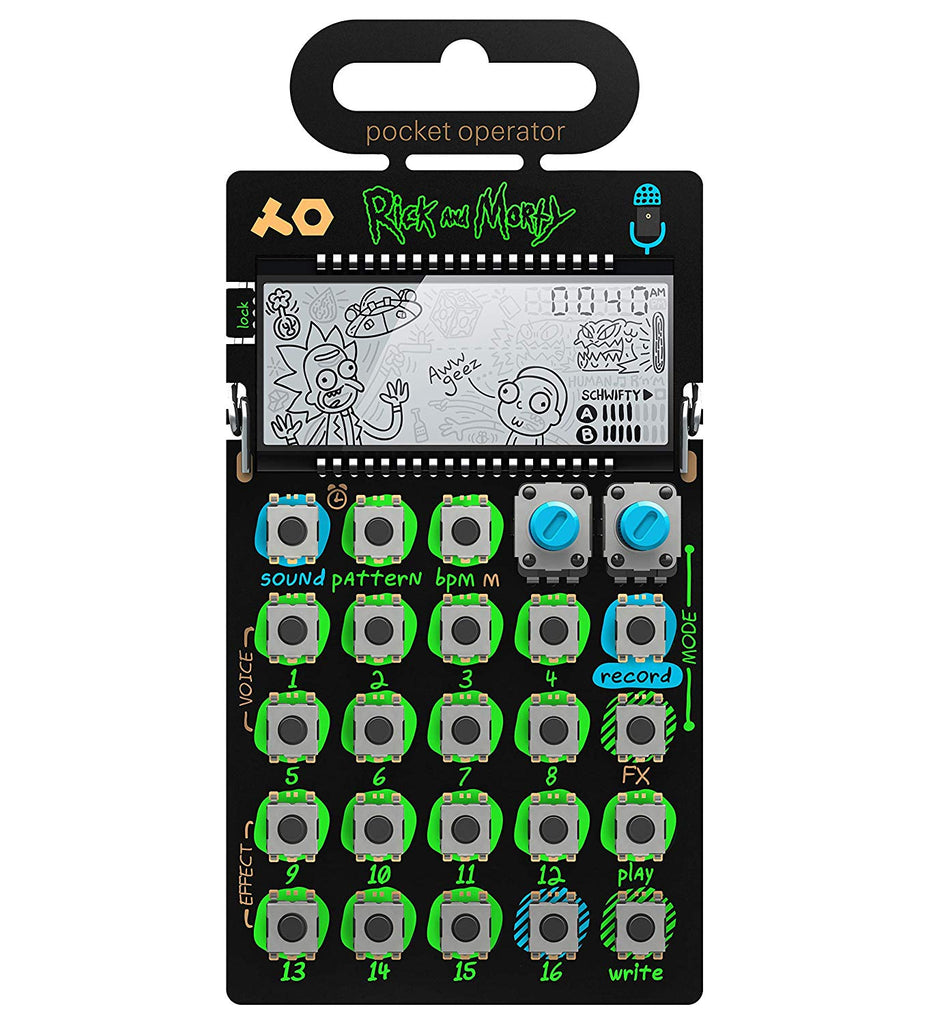 PO-137 Rick and Morty Limited Edition Pocket Operator