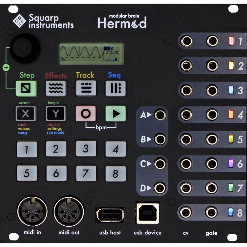 Squarp Instruments Hermod Sequencer & Interface