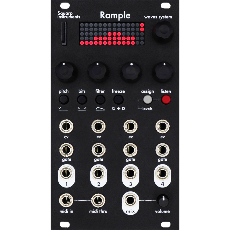 Squarp Instruments Rample Sample Player & Processor