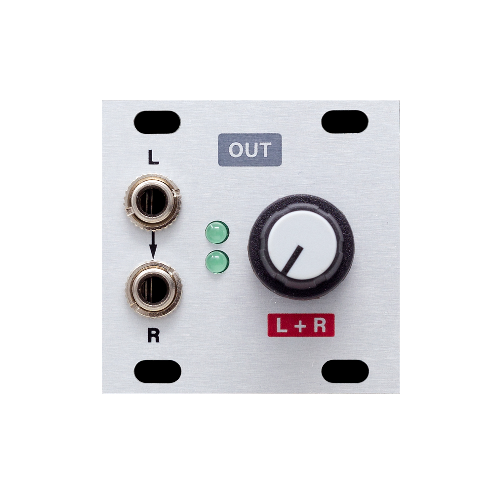 Intellijel Stereo Line Out 1U Output Module