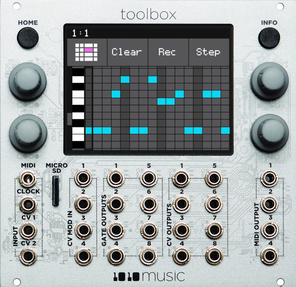 1010 Music Toolbox Sequencer & Function Generator