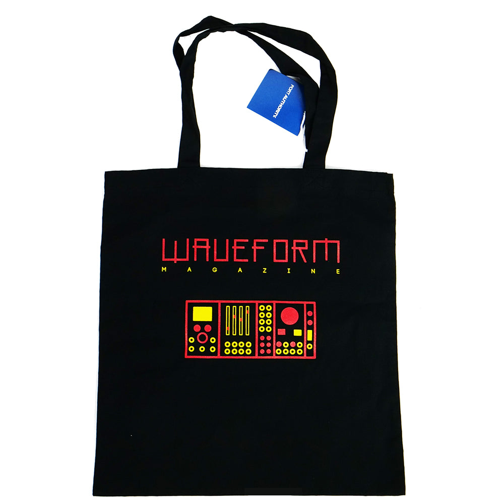 Waveform Magazine Tote Bag