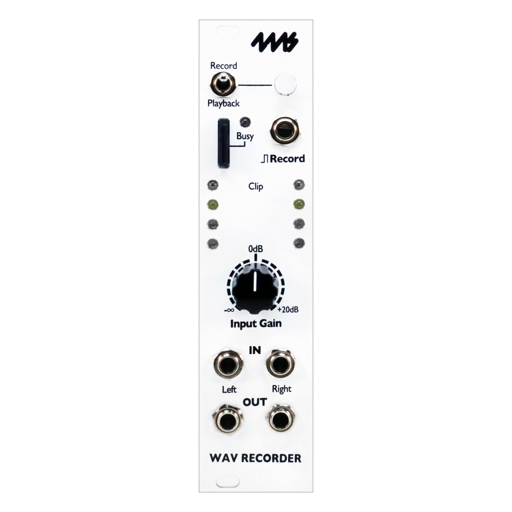 4ms Company WAV Recorder (Open Box)