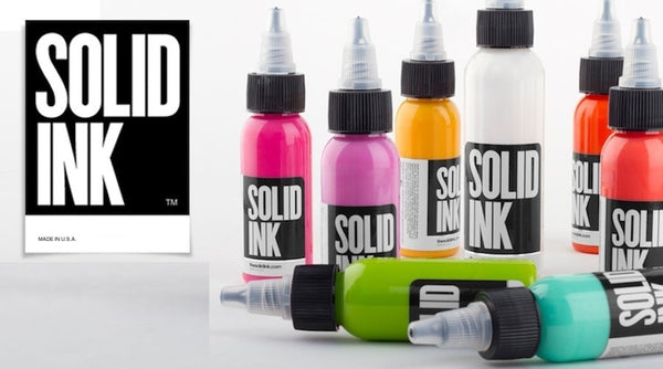 Solid Ink - Solid Ink Single Bottles | CHOOSE YOUR COLOR 4 & 8oz Bottles