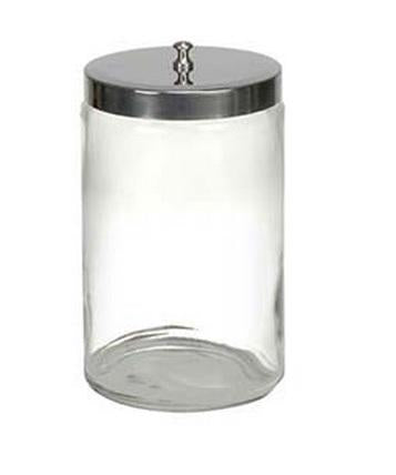 "Tech-Med® Glass Sundry Jars, 7"" x 4¼"" Diameter"