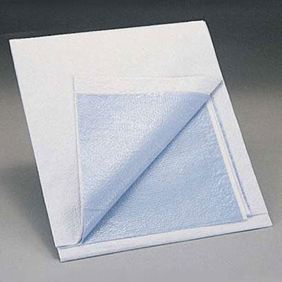 Medline Exam Sheet (Drape Sheet), Tissue With Poly Backing 40x60, 100 sheets per case. Made in USA.