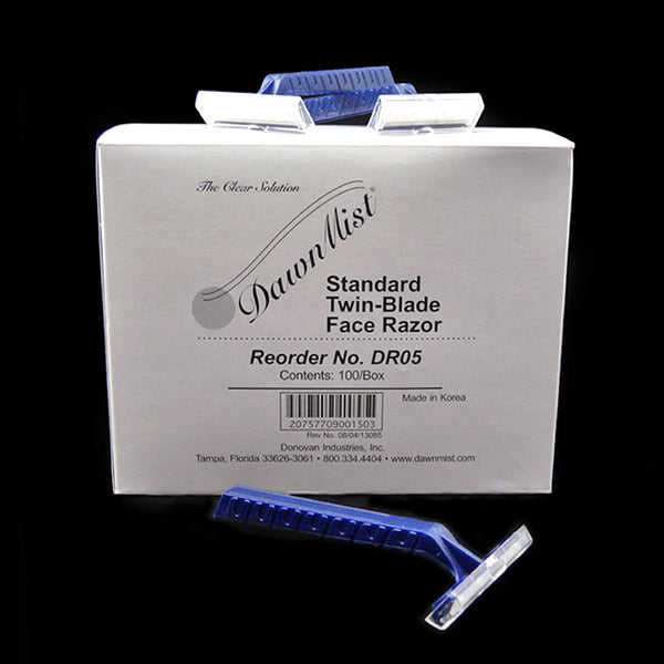Dawn Mist Twin Blade Razor. CHOOSE PACK OF 50 or 100.
