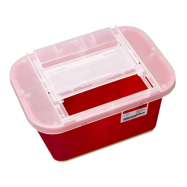 Medline Sharps Containers: CHOOSE 1 qt, 5 qt, 1 gal, 2 gal or 3 gal ...