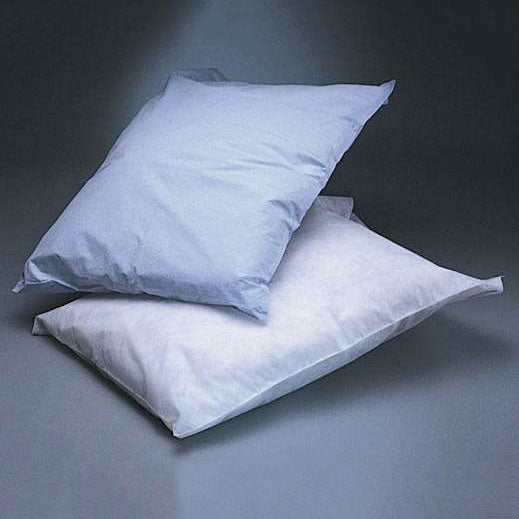 Hospital Grade Pillow Covers, Tissue/Poly, 21 x 30, Blue. 100 per case. Made in USA.