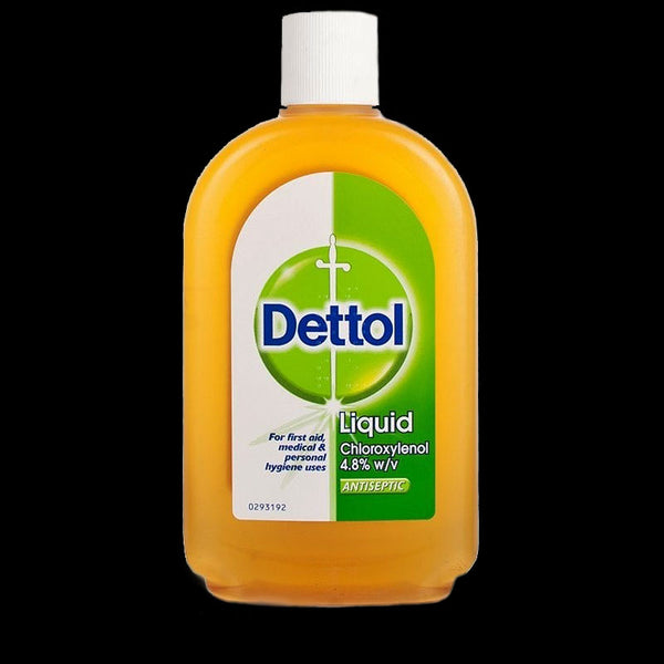 DETTOL Topical Antiseptic Disinfectant Liquid. CHOOSE 500ml or 750ml (LIMIT 2 PER CUSTOMER)