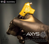 Axys Fehu Rotary Machine, very light small machine only weights 2.8oz. CHOOSE COLOR & STROKE. Free Shipping.