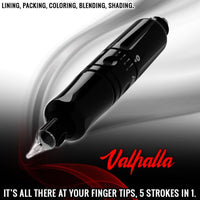 Valhalla Pen by Axys Rotary USA, we're sure you've heard a lot about this machine. Free Shipping.