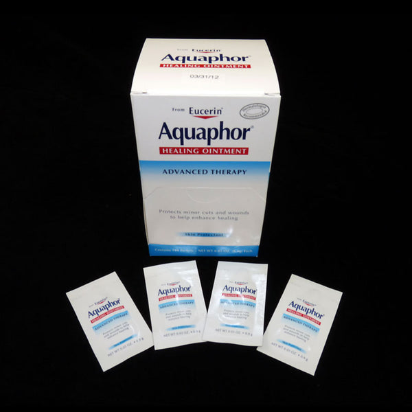 ***MANUFACTURER IS TEMPORARILY CEASING PRODUCTION*** Aquaphor Healing Ointment 0.9 gram packets, 144/Bx