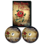 Paint Tattoo Flash by Joe Swanson, 2 DVDs.