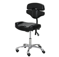 Hydraulic Artist Chair With Removable Half Height Back