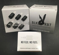 "BLK RBT Tubes 1"" or 1.25"" Grip, 20/box for 1"" and 15/box for 1.25"", Open Mag, Angled Round & Diamond"