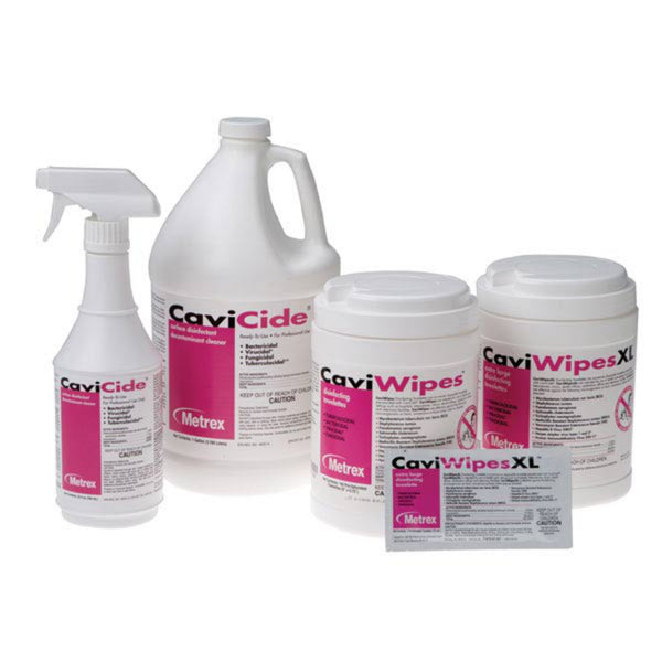 Cavicide®, CHOOSE 1 Gallon or 24oz Spray Bottle or Wipes