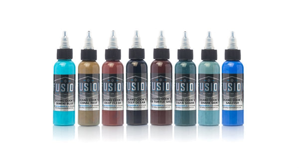 Fusion Ink - Deano Cook Signature Series CHOOSE COLOR & BOTTLE SIZE