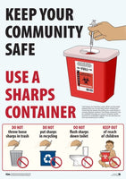 Sharps DROP OFF SERVICE in lieu to MAIL BACK. *** SAVE MORE THAN 1/2 THE COST ***