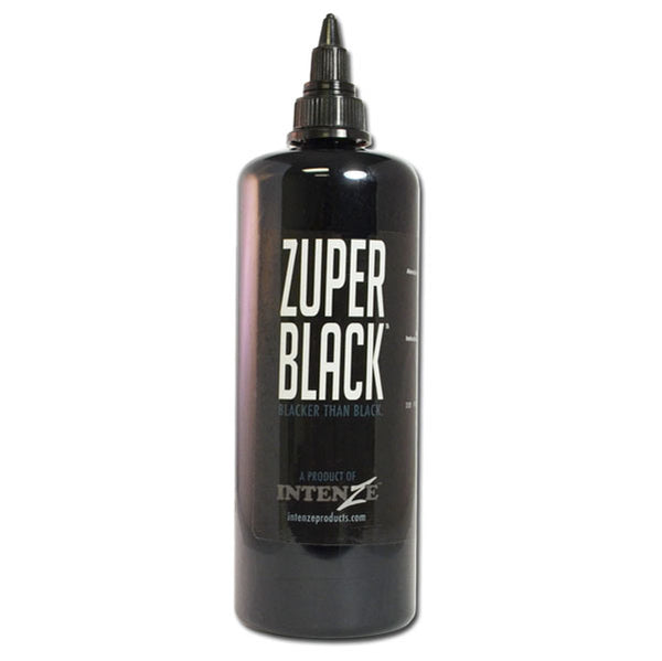 Intenze Ink - INTENZE 12 oz. Zuper Black