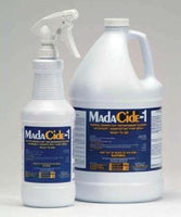 MadaCide-1® Alcohol Free,CHOOSE ! Gallon or 24oz Spray Bottle. *** CAN ONLY SHIP VIA UPS***