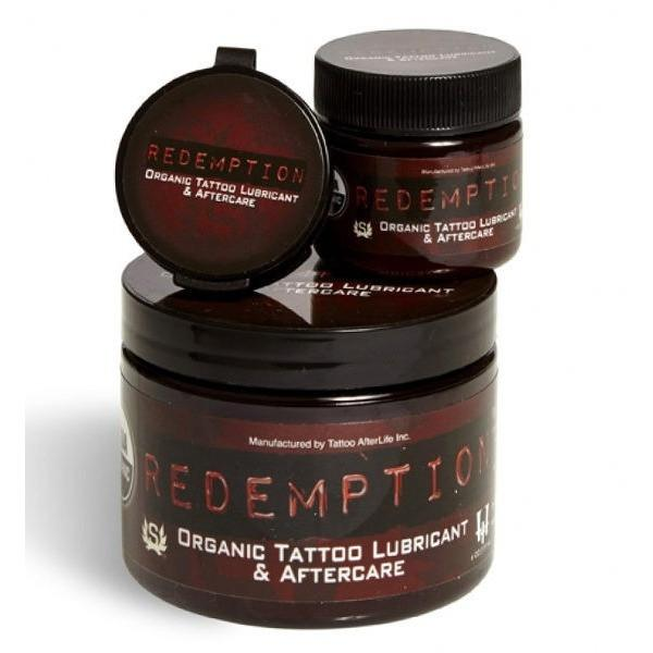 REDEMPTION Organic Tattoo Lubricant & Aftercare. Choose Size.