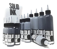 Solid Ink - Solid Ink Opaque Grey Set | Available in 1oz or 2oz