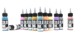 Solid Ink : Art Deco Set 12 bottles, 1oz