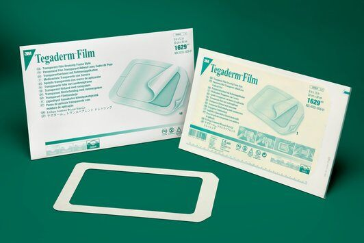 "3M Tegaderm Film Bandage, MADE IN THE USA, personal size, choose 6"" x 8"" or 8"" x 12"""