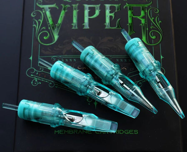 VIPER Cartridge ROUND LINERS #12, #10 & #8. *XT* = Extra Tight. 20/box.