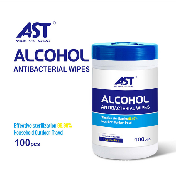 AST Alcohol AntiBacterial Hand Wipes, 6 x 7½ (100 wipes). THESE ARE FOR HANDS BUT COULD ALSO BE USED ON SURFACES.