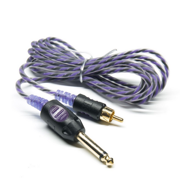 Bishop Premium Lightweight RCA Clip Cord - 7 ft