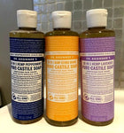 Dr Bronner's Castille Soap, choose Size: 2oz, 8oz, 16oz or 1/2 Gallon.