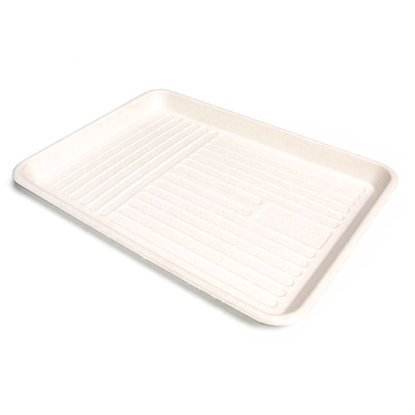 "ECOsply Large Biodegradable Instrument Tray, 9.25"" x 12.25"" Pack of 10"