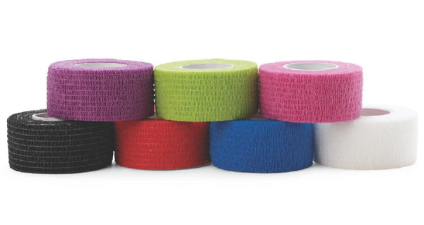 "Medline Non-Sterile, Latex-Free, Self Adherent Grip Wraps. THERE ARE: 30/Case 1"" & 36/Case 2"""