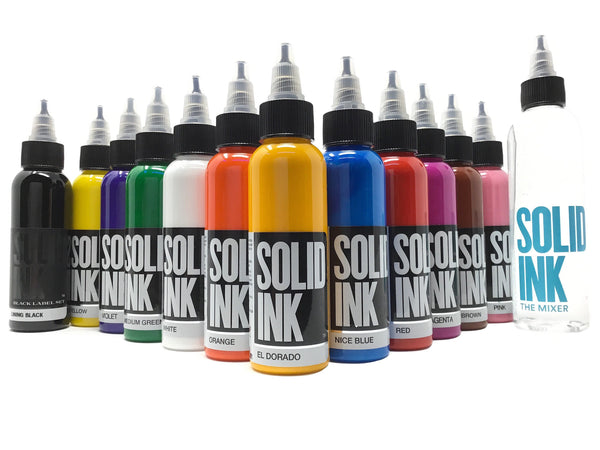 Solid Ink - Solid Ink 12 Colors Spectrum Set | Available in 1oz or 2oz